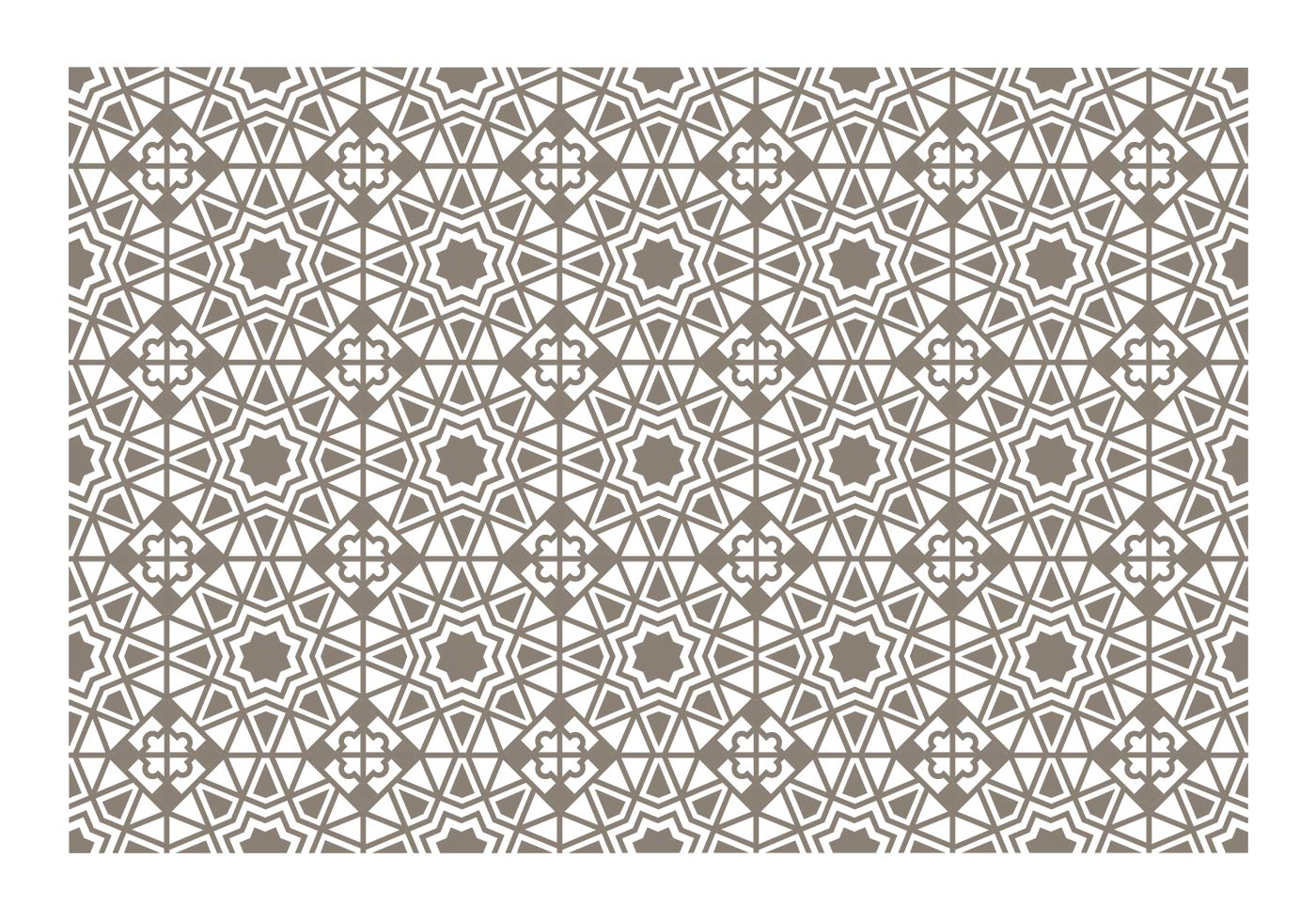 Free clipart turkish tile background black and white banner free library Turkish Pattern Free Vector Art - (2,553 Free Downloads) banner free library