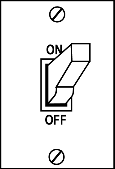 Free clipart turning off lights clipart black and white download Light switch clipart free - ClipartFest clipart black and white download