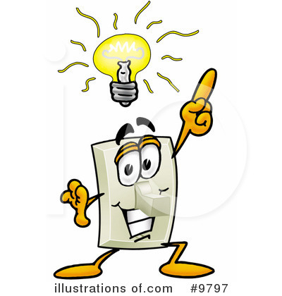 Free clipart turning off lights image stock Light Switch Clipart - Clipart Kid image stock