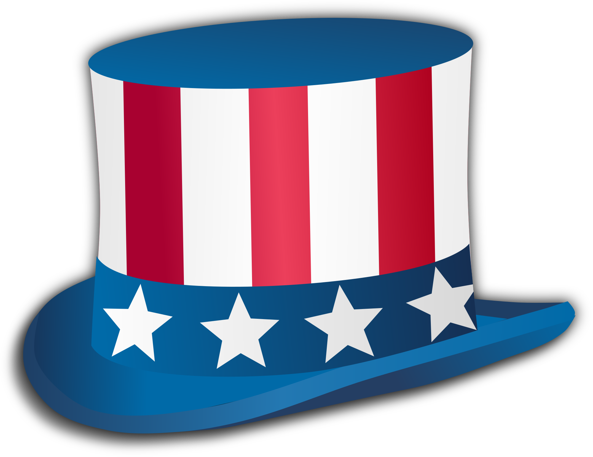 Free clipart uncle sam taking money clip art library File:Uncle Sam hat.svg - Wikimedia Commons clip art library