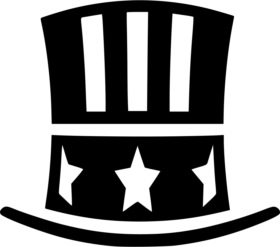 Free clipart uncle sam taking money freeuse library Uncle Sam Hat Svg Png Icon Free Download (#460629) - OnlineWebFonts.COM freeuse library
