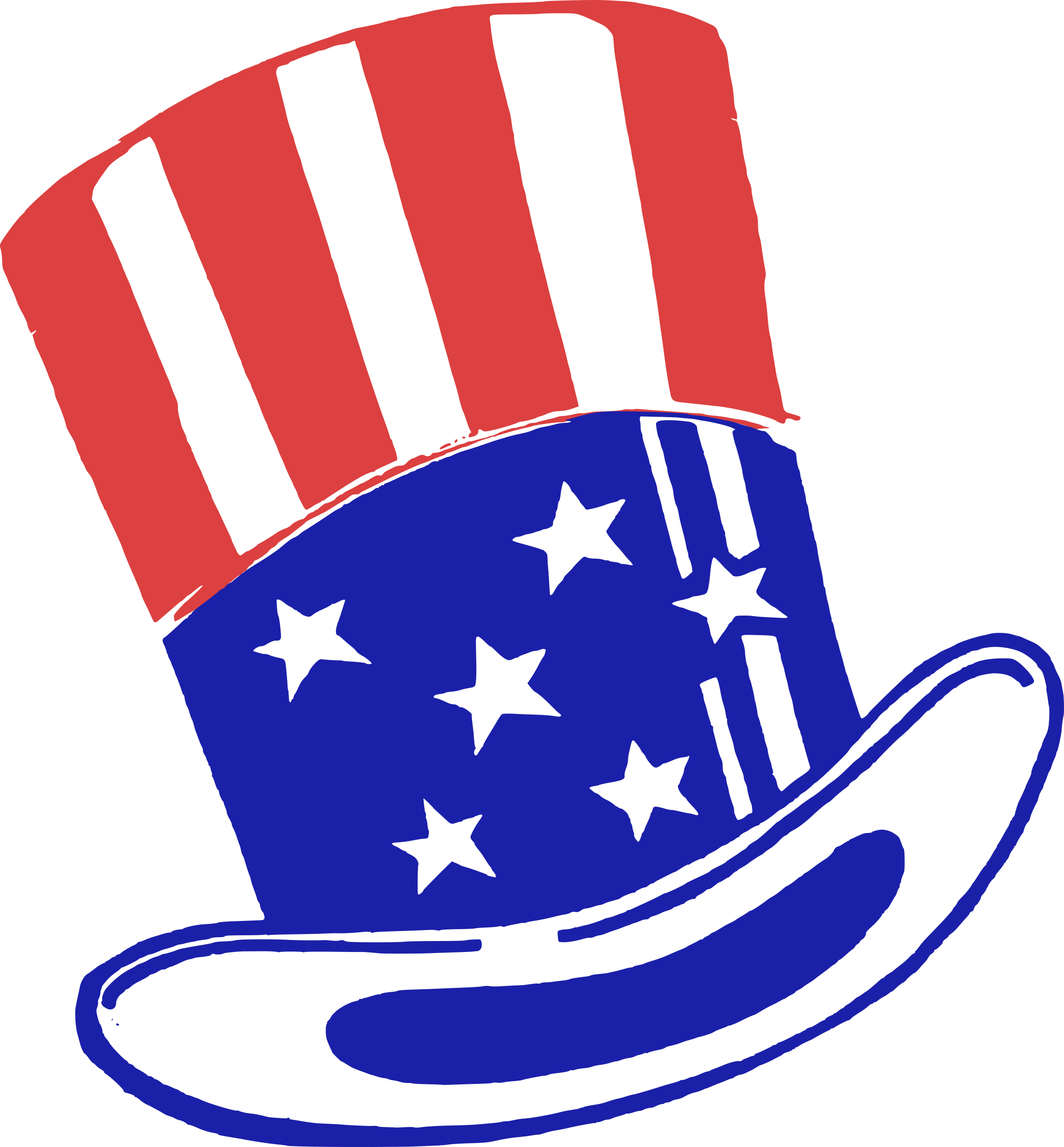 Free clipart uncle sam taking money vector black and white download Uncle Sam Hat Icons PNG - Free PNG and Icons Downloads vector black and white download