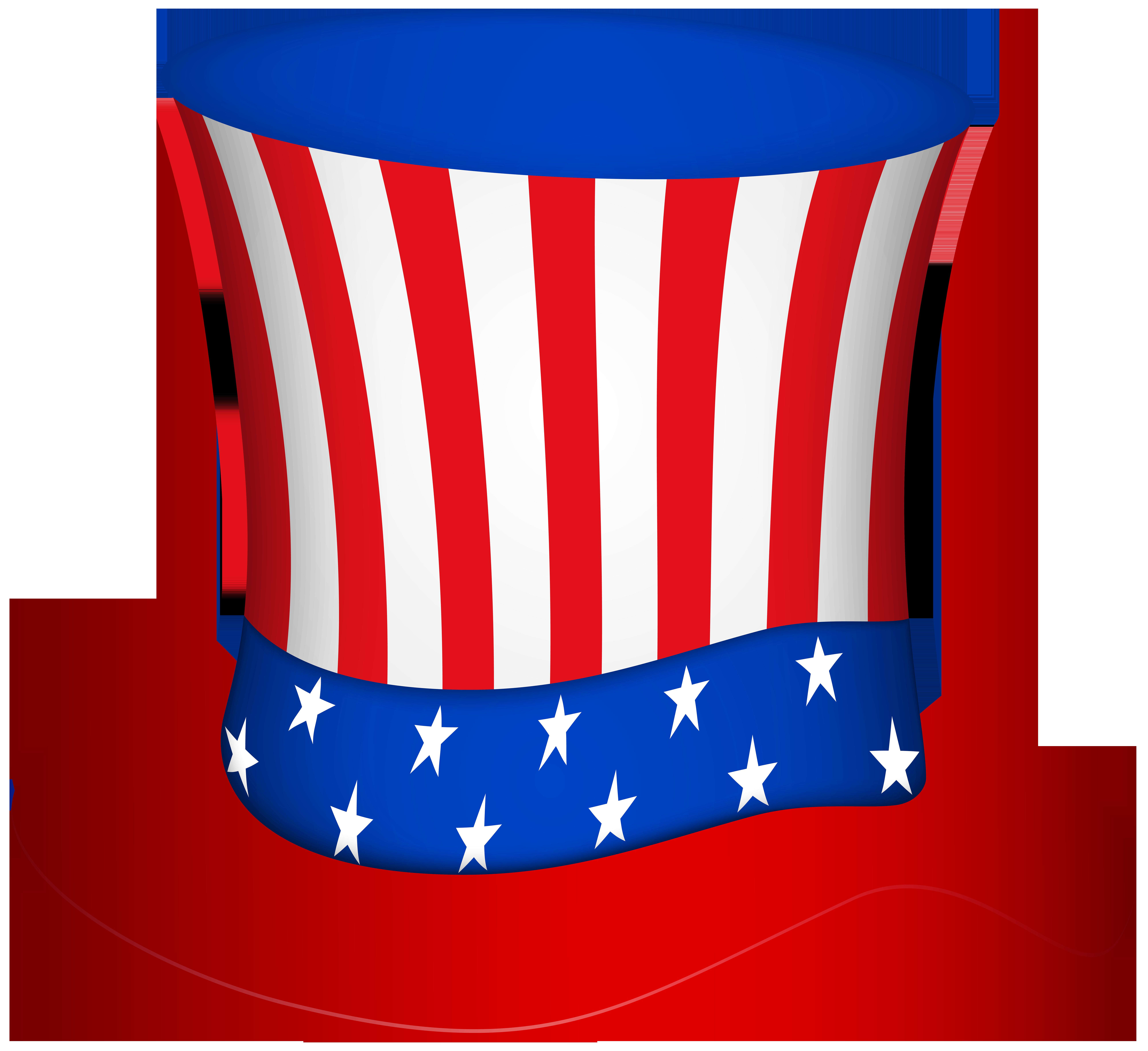 Free clipart uncle sam taking money jpg transparent download Uncle Sam Hat PNG Transparent Clip Art Image | Gallery Yopriceville ... jpg transparent download