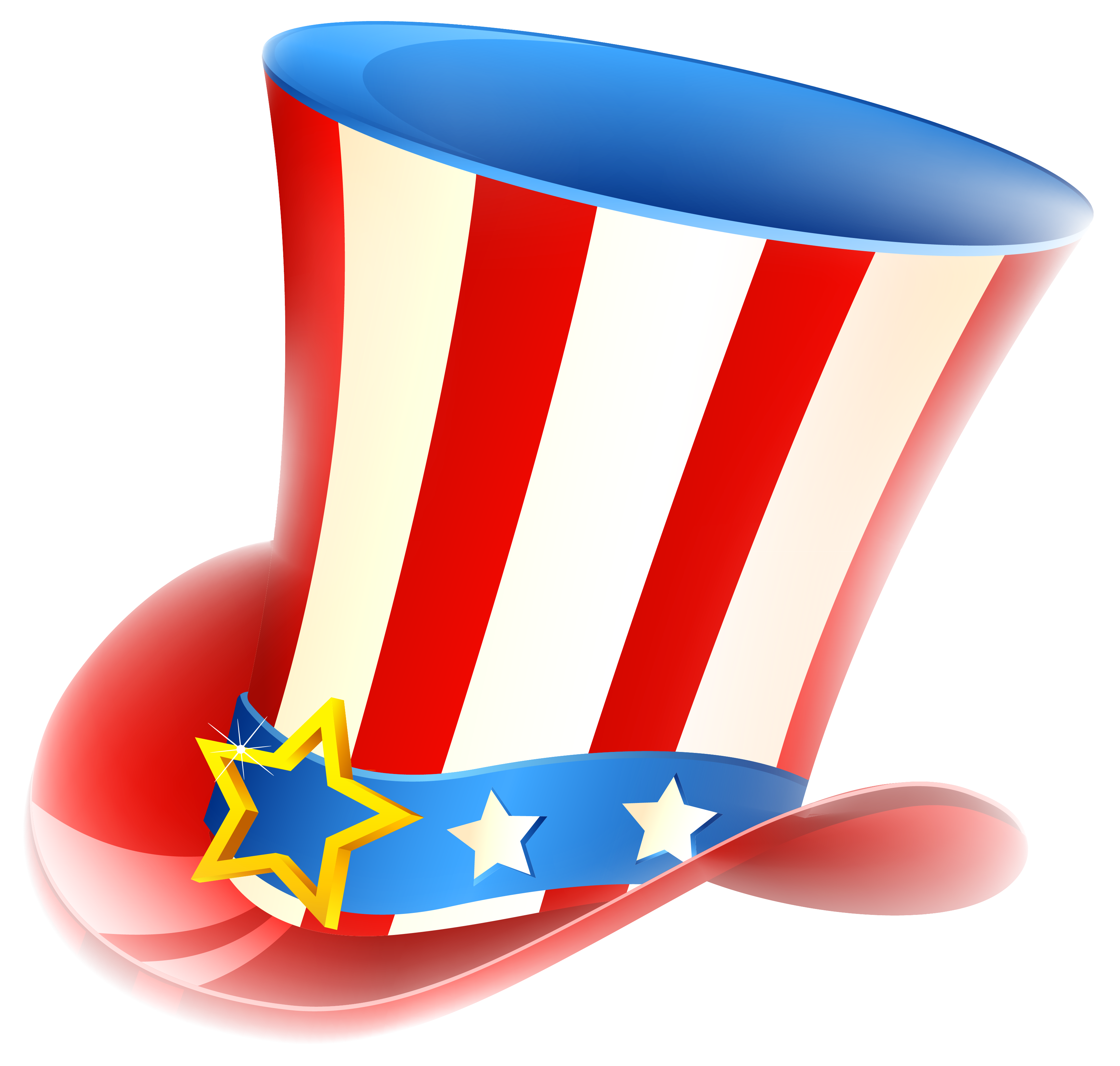 Free clipart uncle sam taking money clipart library stock Patriotic Uncle Sam Hat PNG Clipart | Gallery Yopriceville - High ... clipart library stock