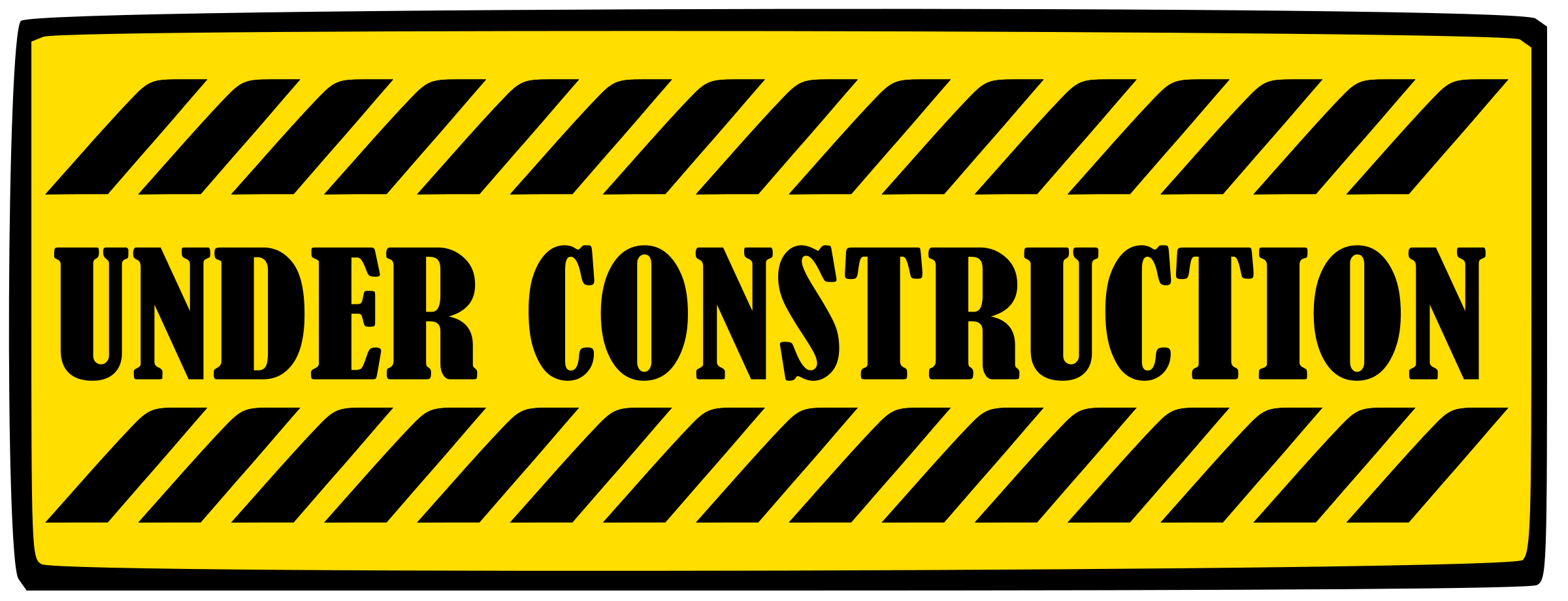 Free clipart under construction sign. Building gallery