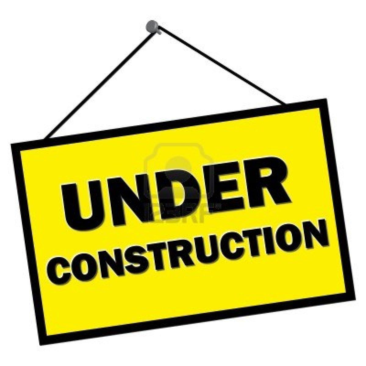Free clipart under construction sign. Website image download best