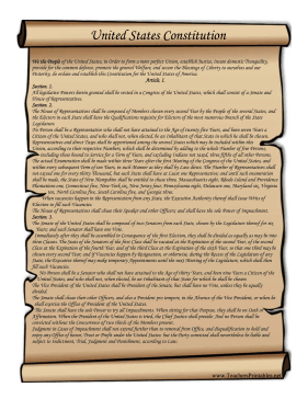 Free clipart us declaration of independence blackline clip library stock This printable scroll features the text of the United States ... clip library stock
