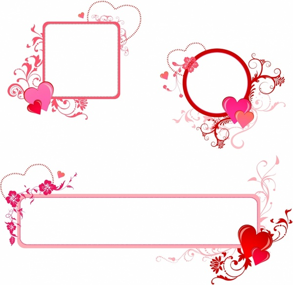 Valentine clipart free borders graphic royalty free download Free Valentine\'s Border Cliparts, Download Free Clip Art, Free Clip ... graphic royalty free download