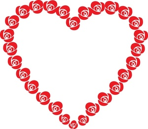 Free clipart valentines day hearts picture transparent stock Free clipart valentines day hearts - ClipartFest picture transparent stock