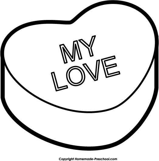 Free clipart valentines hearts picture transparent Free Valentine Heart Clipart picture transparent