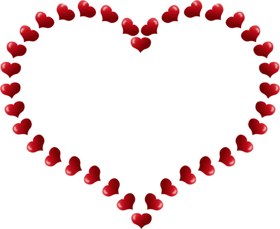 Clipart basketball heart clip free Free clipart valentines day border - ClipartFest clip free