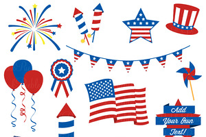 Free clipart vector fourth of july colonial png black and white download 4th Of July Borders Clipart | Free download best 4th Of July Borders ... png black and white download