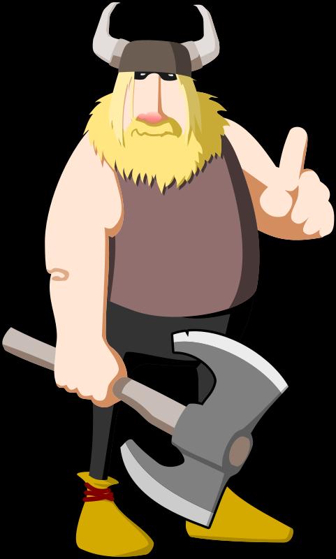 Free clipart vikings. Viking warning tzunghaor
