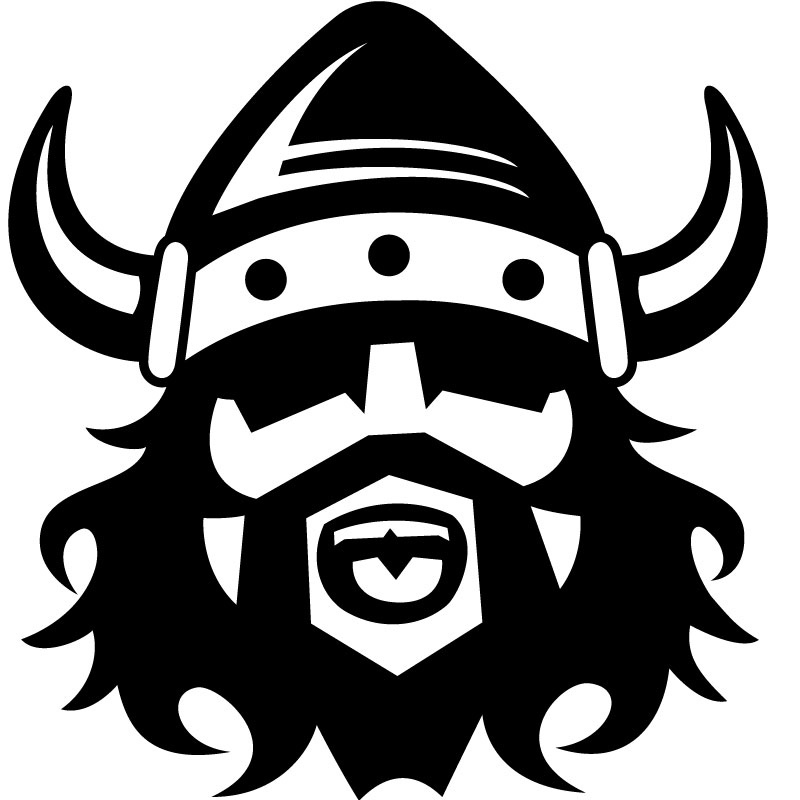Viking head viking clipart graphic black and white library Free viking clipart idea - Clipartix graphic black and white library