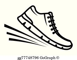 Pair of running shoes clipart png download Walking Shoes Clip Art - Royalty Free - GoGraph png download