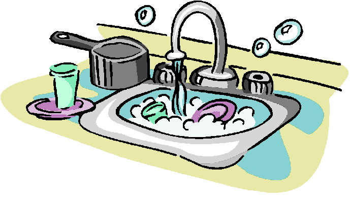 Free clipart washing dishes. Clean cliparts download clip