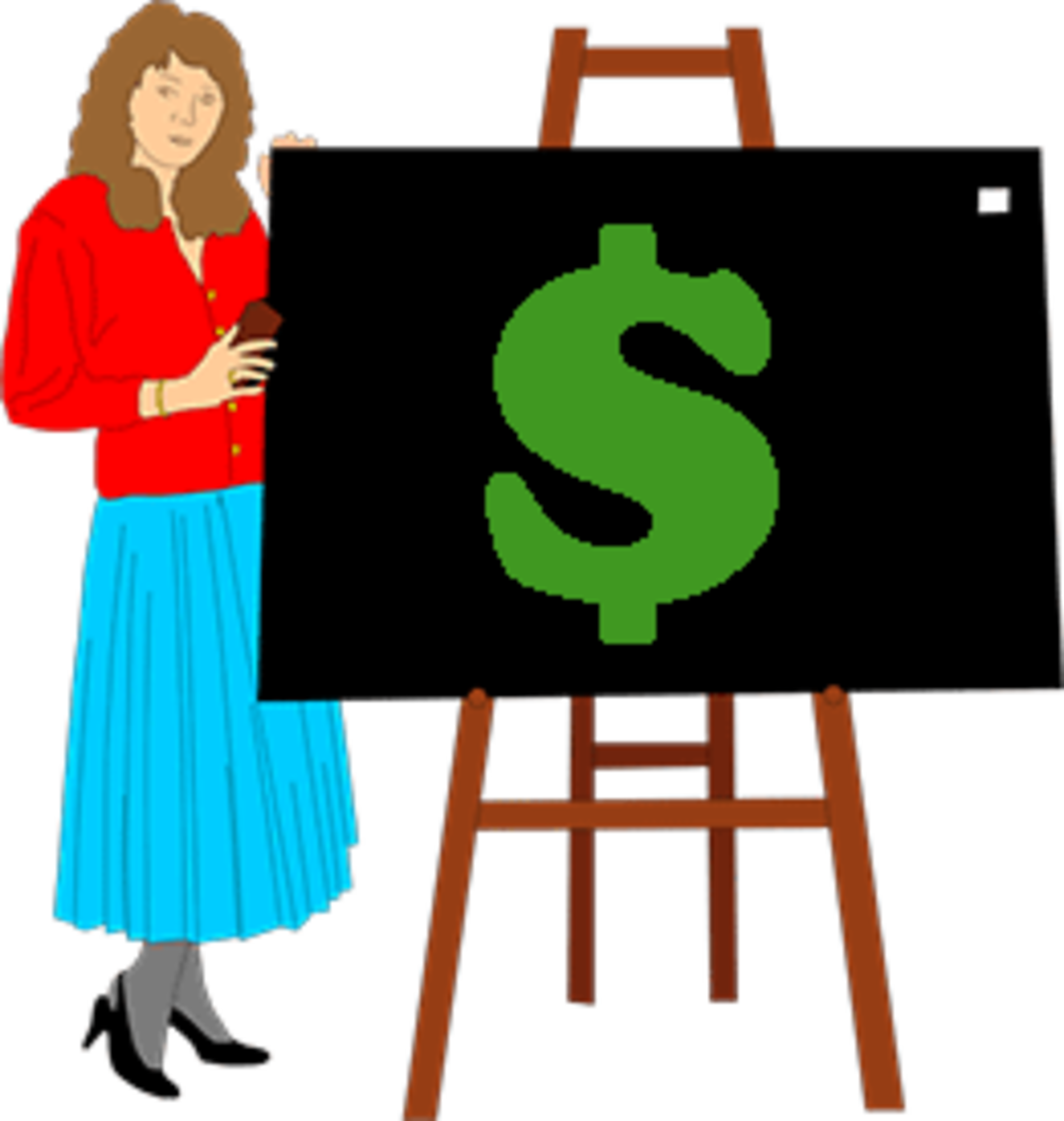 Free clipart wasted money female clip library 5 Reasons Why Teachers Need To Get Paid More clip library