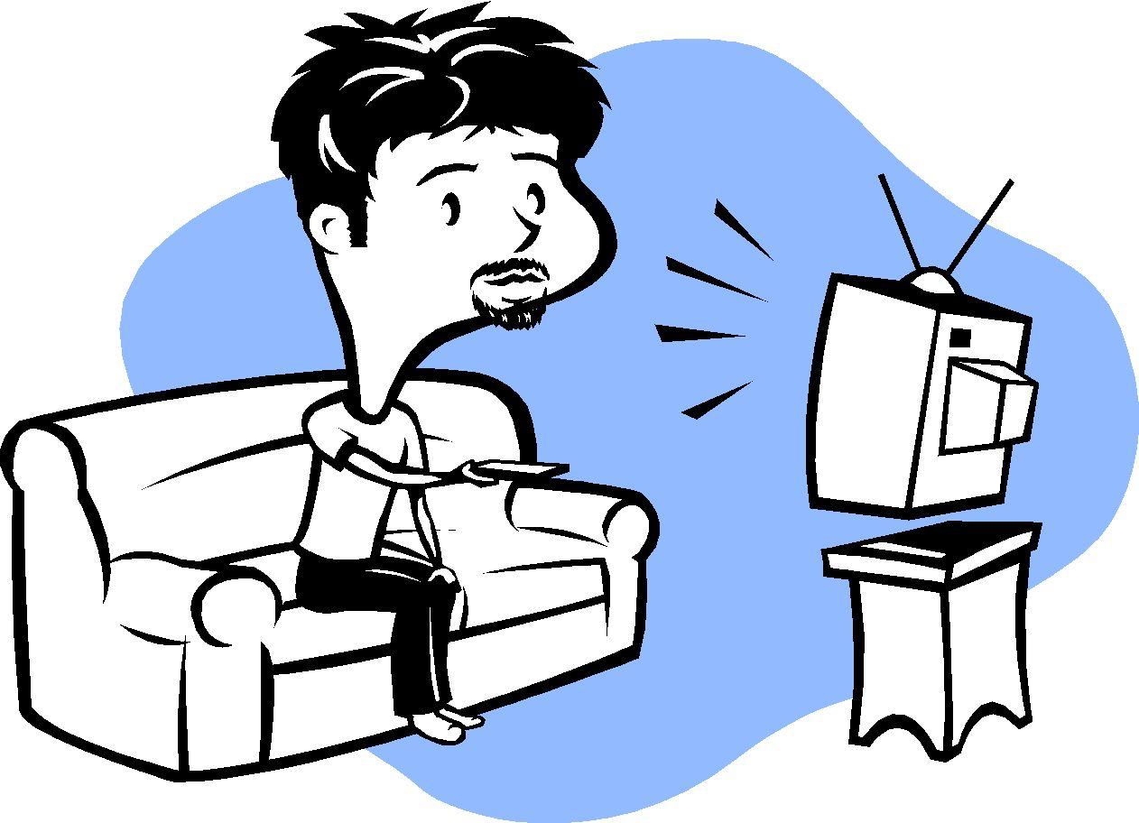 Free clipart watching tv clip art black and white download Free Watching TV Cliparts, Download Free Clip Art, Free Clip Art on ... clip art black and white download