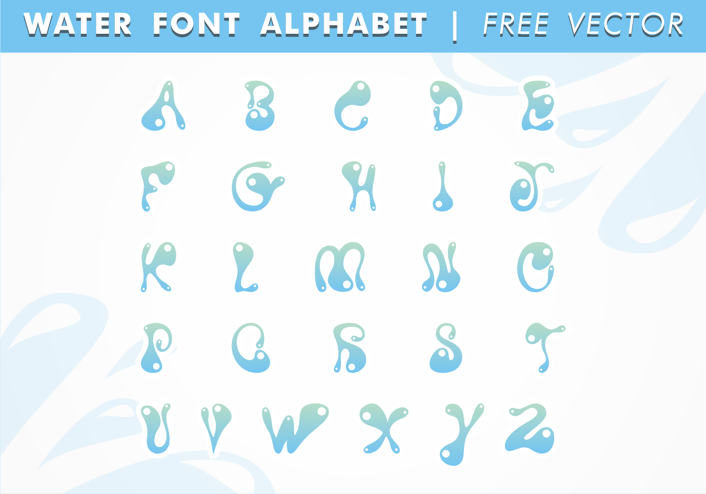 Free clipart water letters graphic freeuse stock Free clipart water letters - ClipartFest graphic freeuse stock