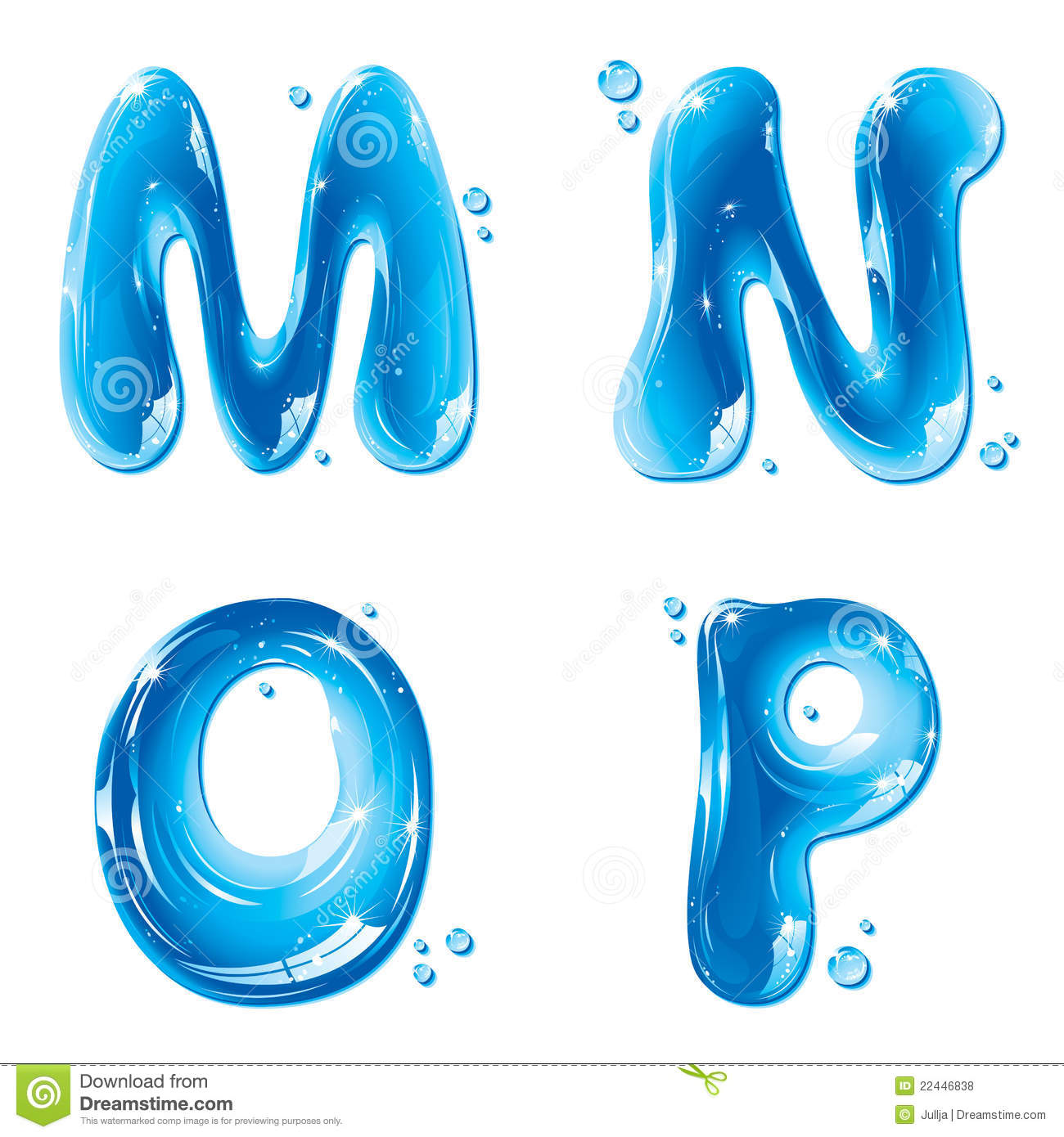 Free clipart water letters png royalty free download ABC - Water Liquid Letter Set - Capital M N O P Royalty Free Stock ... png royalty free download