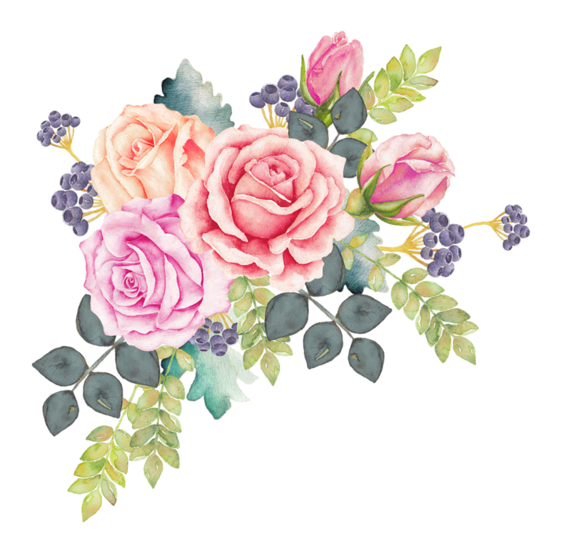Free clipart watercolor flower graphic transparent Watercolour Flowers Watercolor painting Rose Clip art - watercolor ... graphic transparent