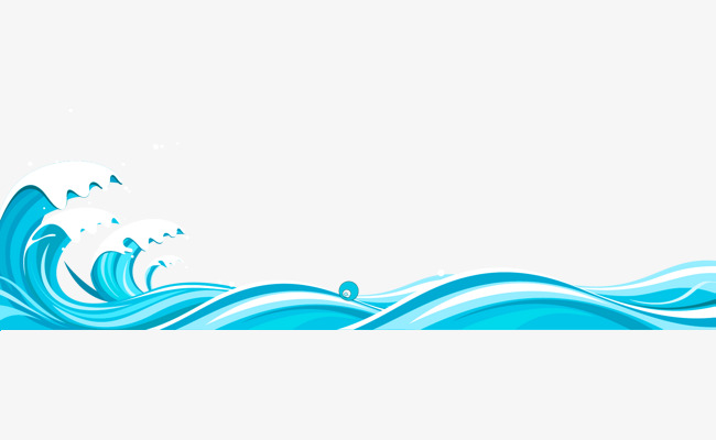 Free clipart wave border. Blue fresh texture png