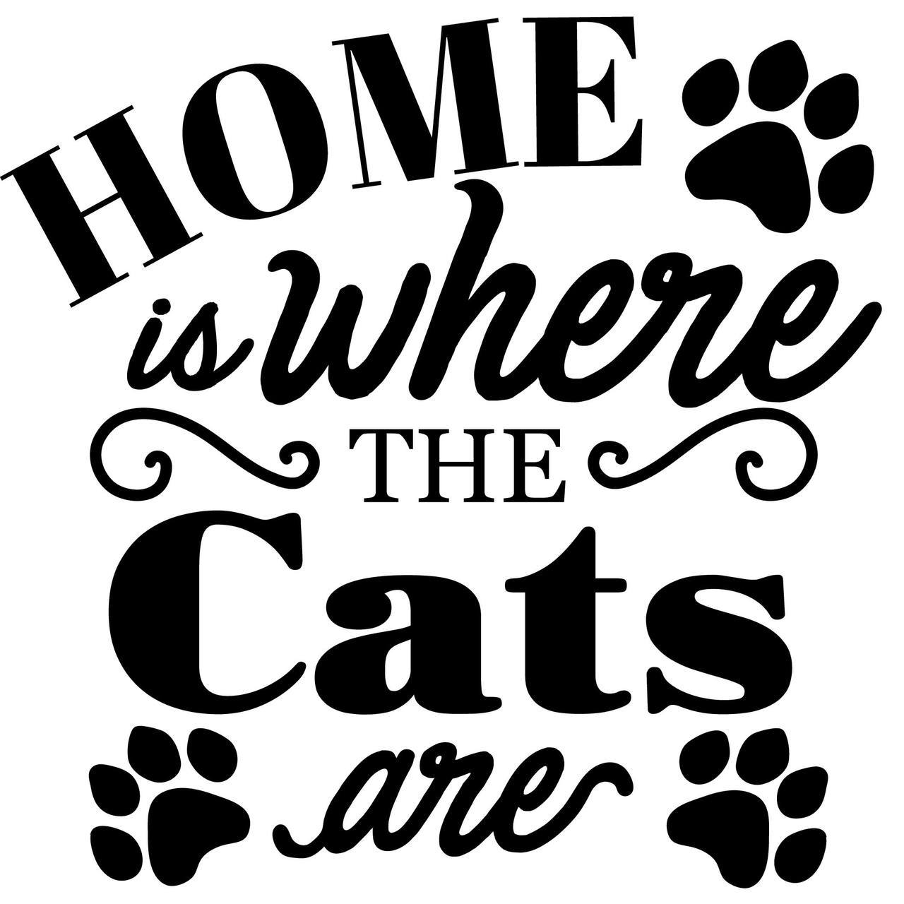 Free clipart welcome back mom from the cats. Home is where are