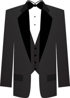 Free clipart white tuxedo