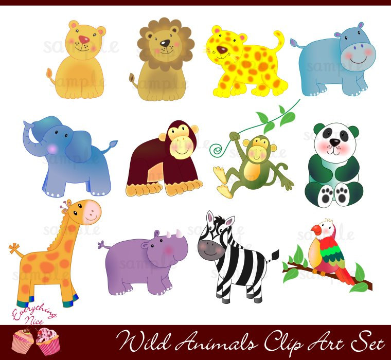 Free clipart wild animals png free Free Wildlife Cliparts, Download Free Clip Art, Free Clip Art on ... png free