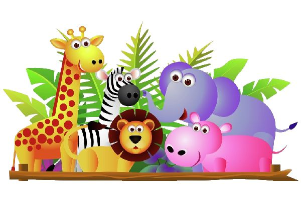 Free clipart wild animals banner library download 10+ Wild Animals Clipart | ClipartLook banner library download