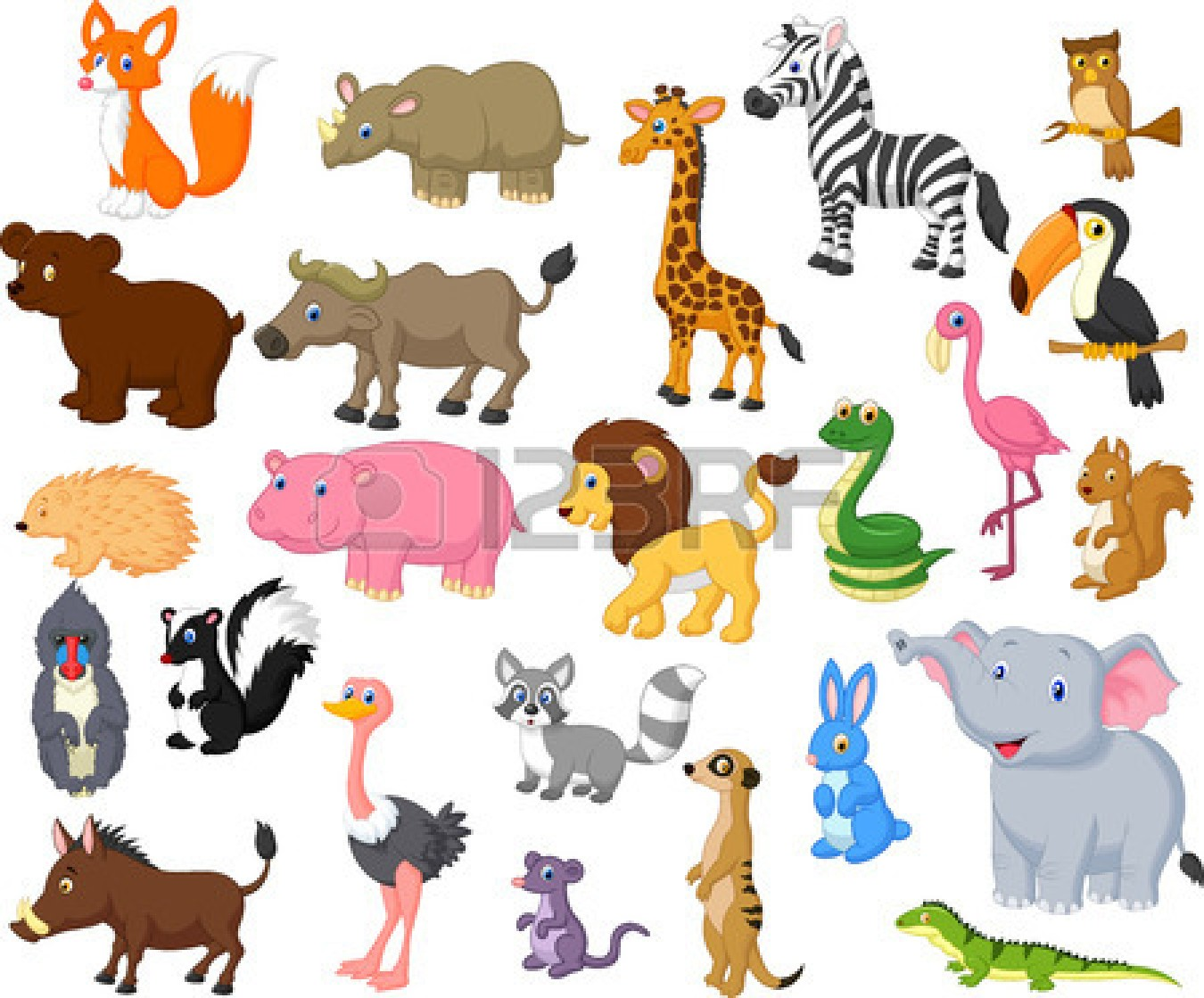 Free clipart wild animals vector transparent stock 104+ Wild Animals Clipart | ClipartLook vector transparent stock