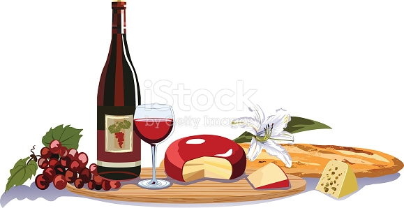 Free clipart wine and cheese on table svg freeuse library Wine And Cheese Clipart Group with 73+ items svg freeuse library