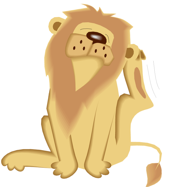 Free clipart winking cat suitcase image freeuse stock Free Lion Clipart image freeuse stock