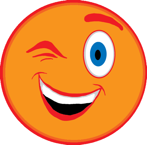 Wink logo clipart