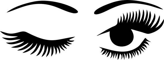 Free clipart winking eye clip royalty free download winking eyelashes digital download winking eye with lashes digital ... clip royalty free download