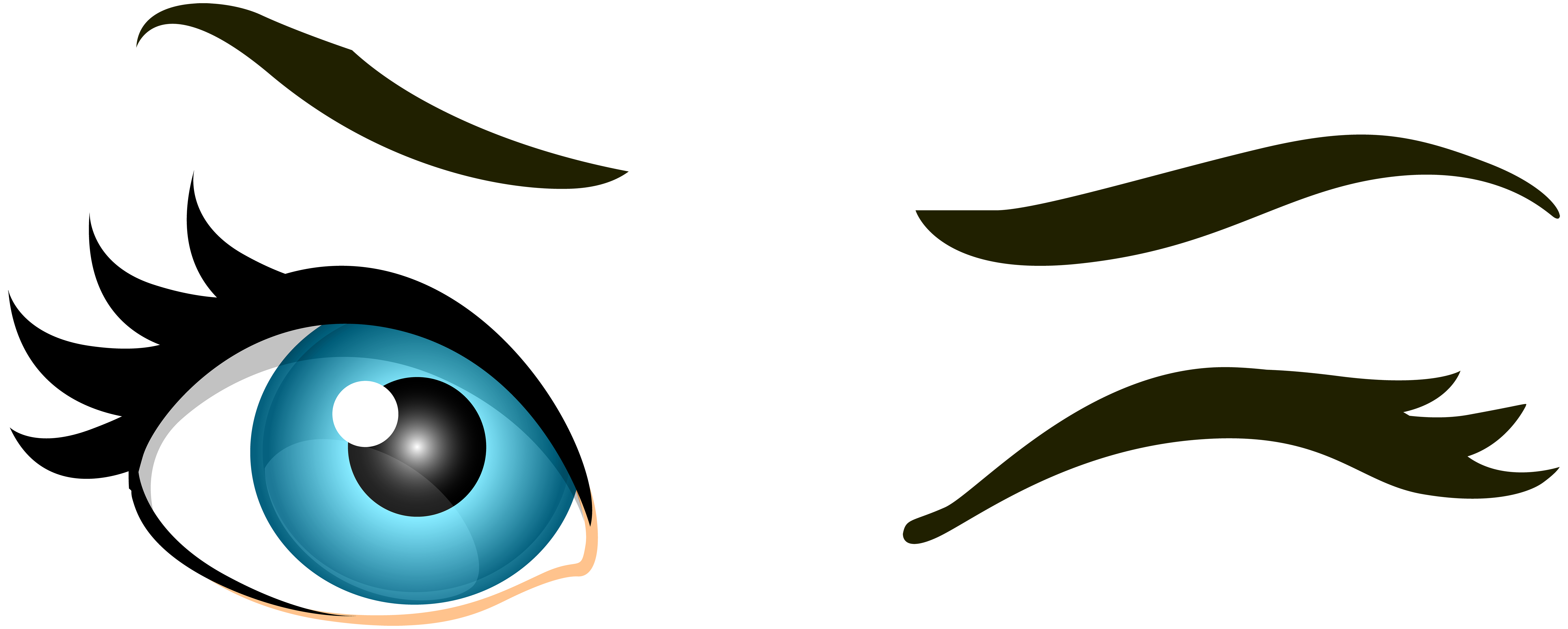 Winking fish clipart picture transparent library Png Winking Eye & Free Winking Eye.png Transparent Images #25173 - PNGio picture transparent library