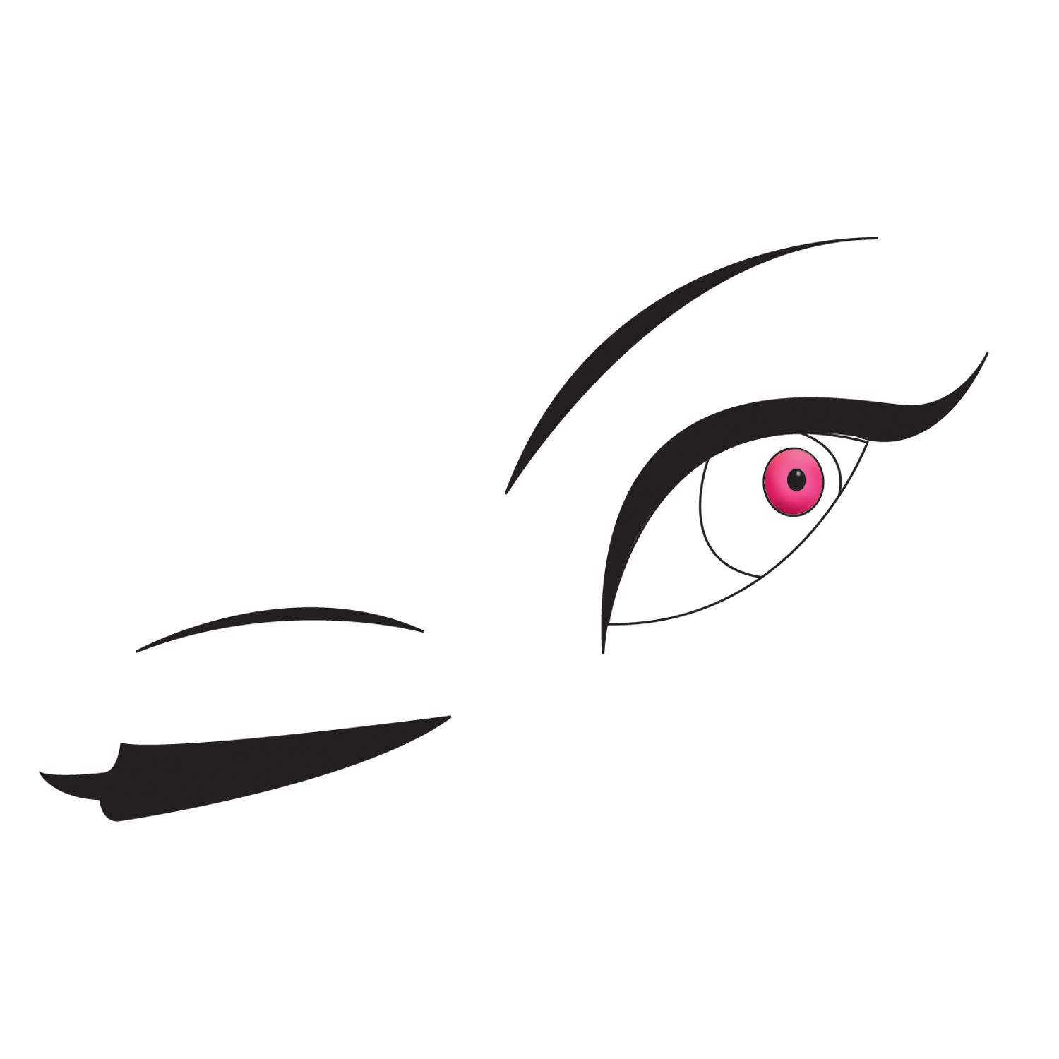 Free clipart winking eye graphic freeuse library Free Winking Eye Cliparts, Download Free Clip Art, Free Clip Art on ... graphic freeuse library