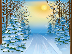 Free snow scene clipart free library Winter Scene Free Clipart | Free Images at Clker.com - vector clip ... free library