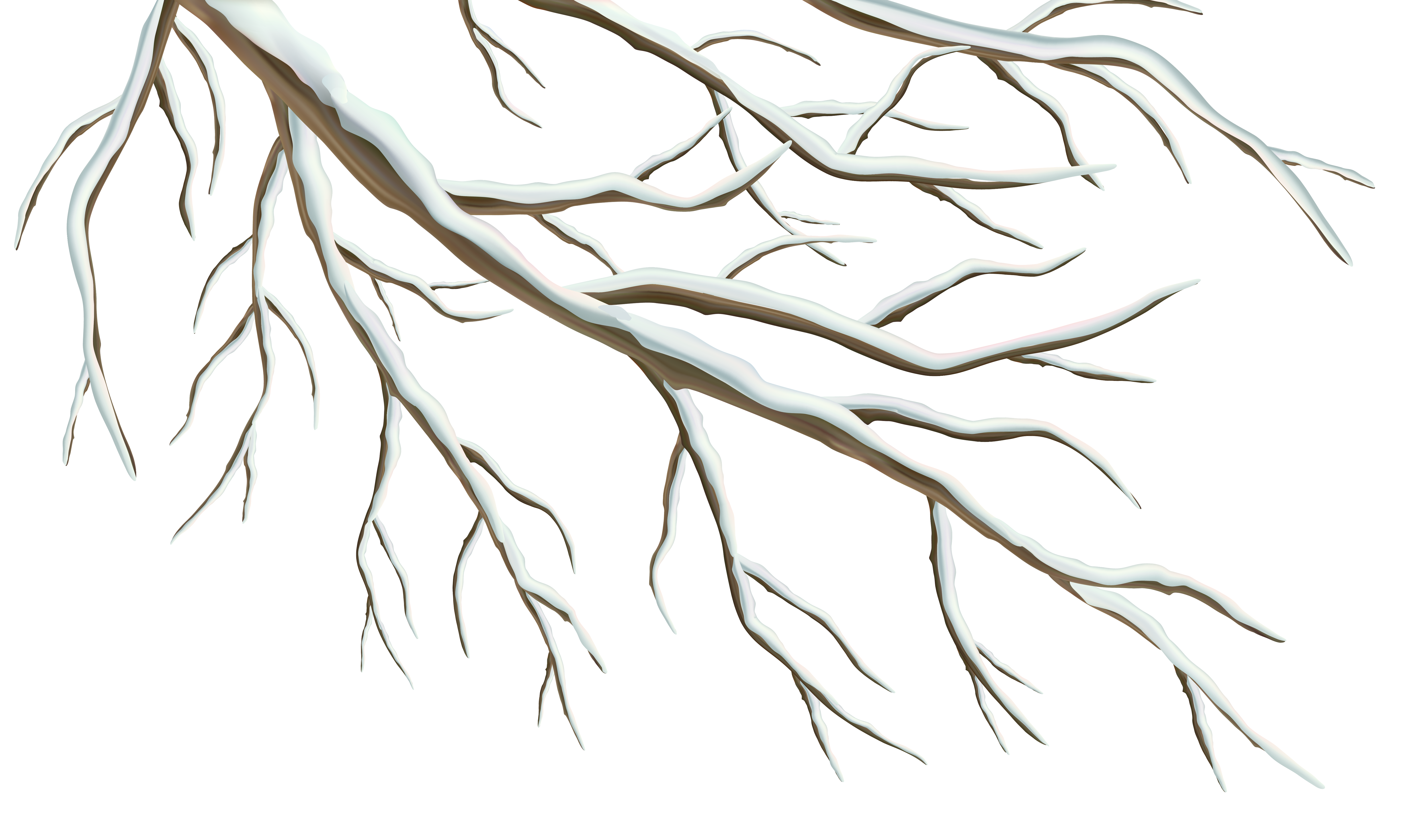 Free clipart winter tree image transparent download Winter Branch PNG Clipart Image | Gallery Yopriceville - High ... image transparent download