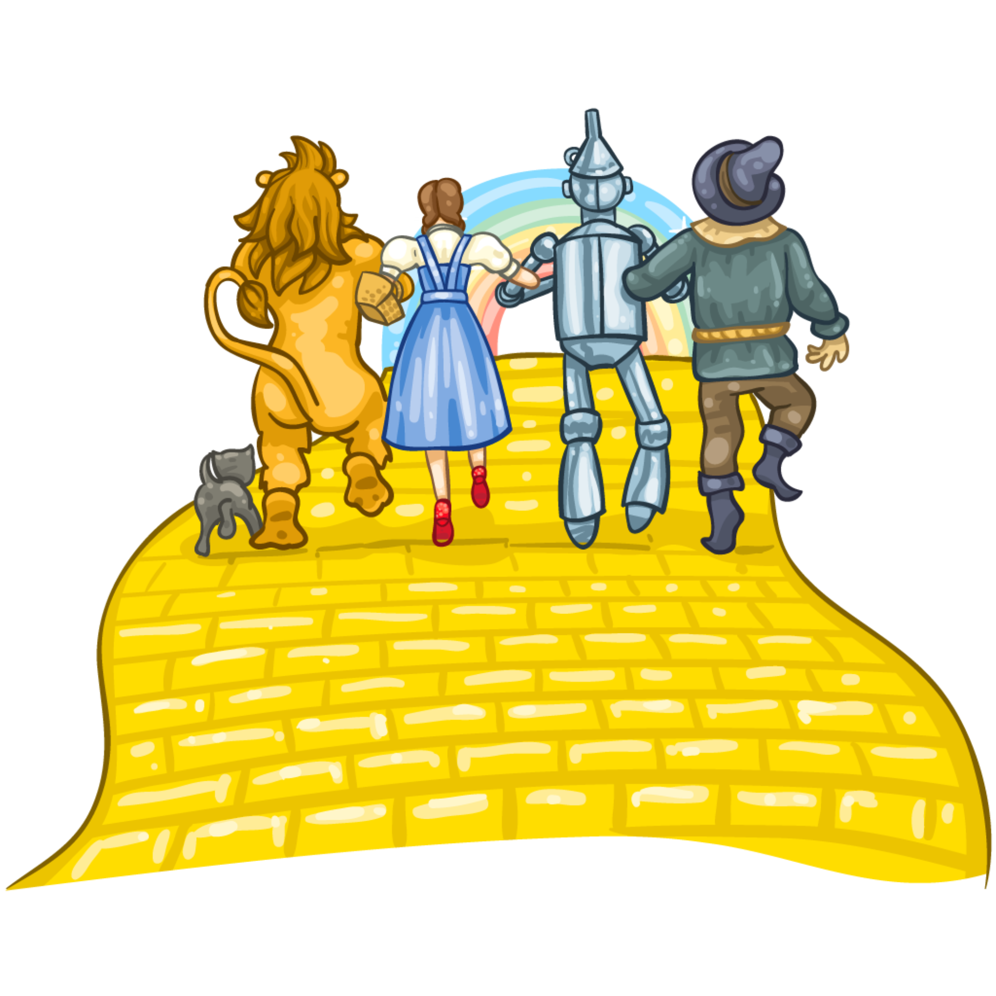 Wizard of oz clipart cartoon graphic freeuse library Wizard Of Oz Clipart Yellow Brick Road | Free download best Wizard ... graphic freeuse library