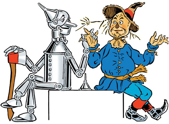 Free clipart wizard of oz clip freeuse download Free clip art of W. W. | L. Frank Baum, WW Denslow, John R. Neil and ... clip freeuse download