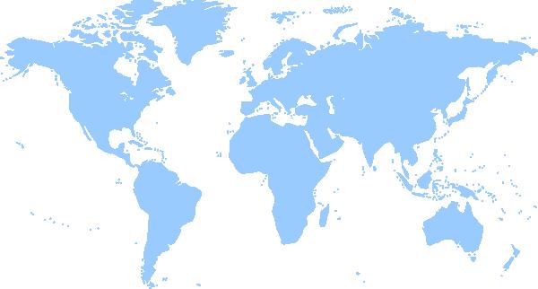 Free clipart world map transparent Clip Art World Map With Countries Clipart - Clipart Kid transparent