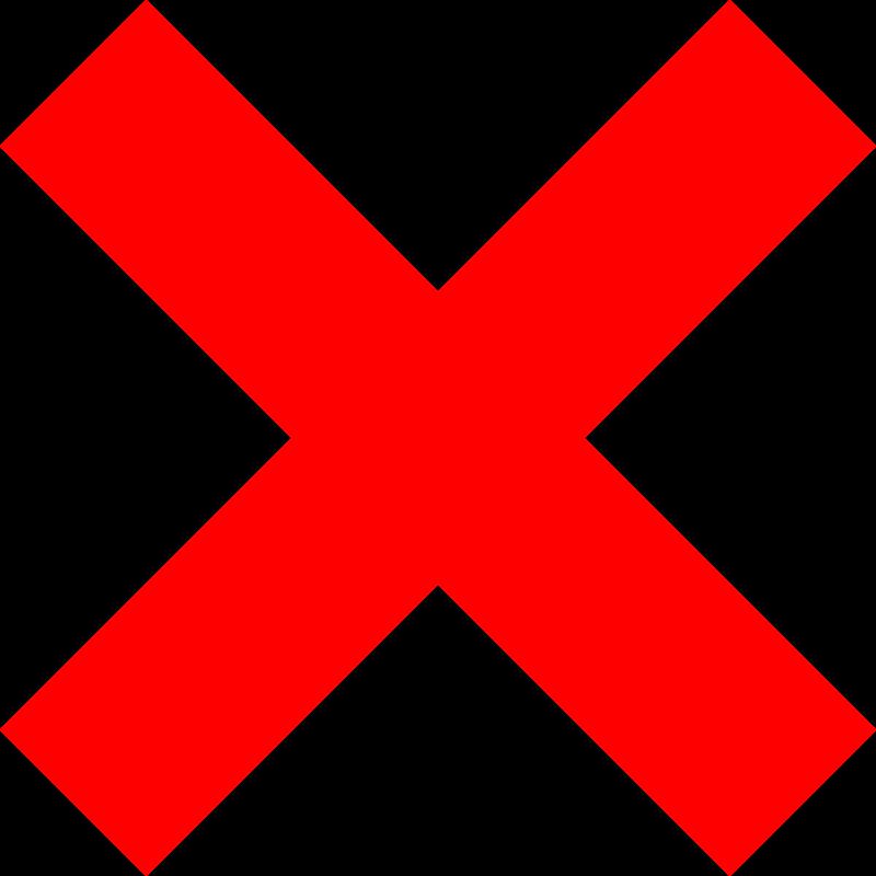 Free clipart x vector transparent download Free Clipart: X icon   milker vector transparent download