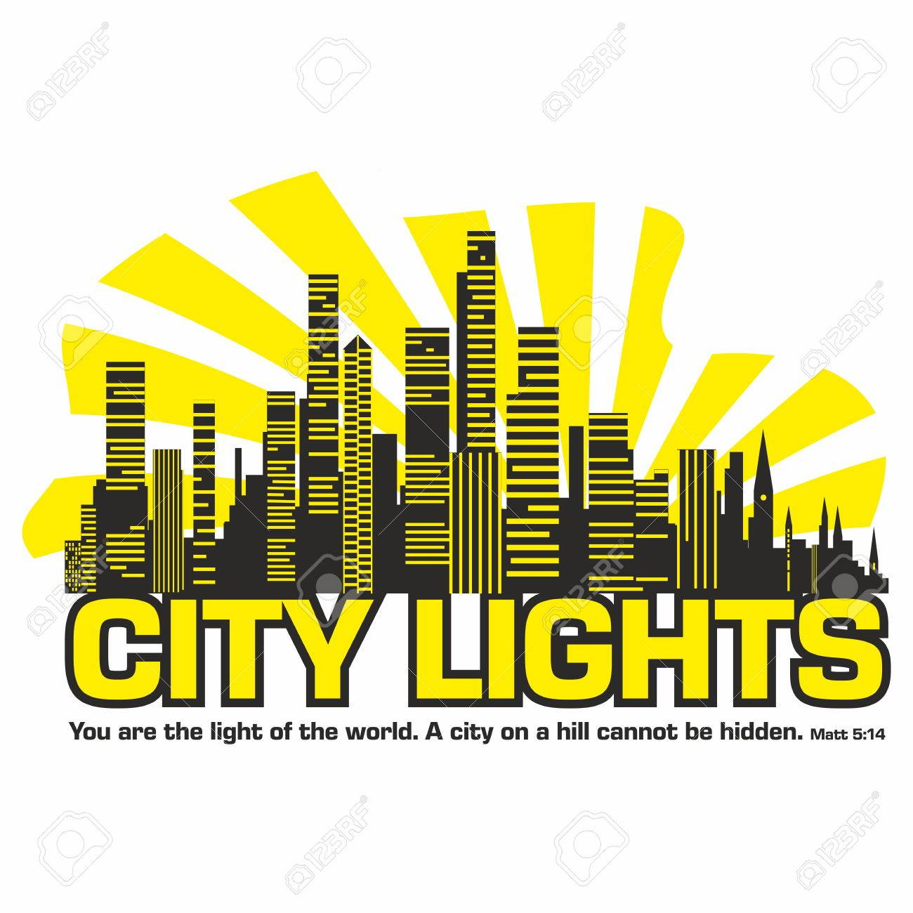 Free clipart you are light of the world. Bible city cliparts download