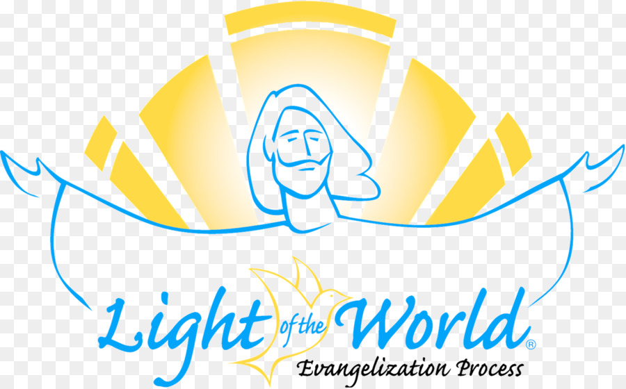 Blue background png download. Free clipart you are light of the world