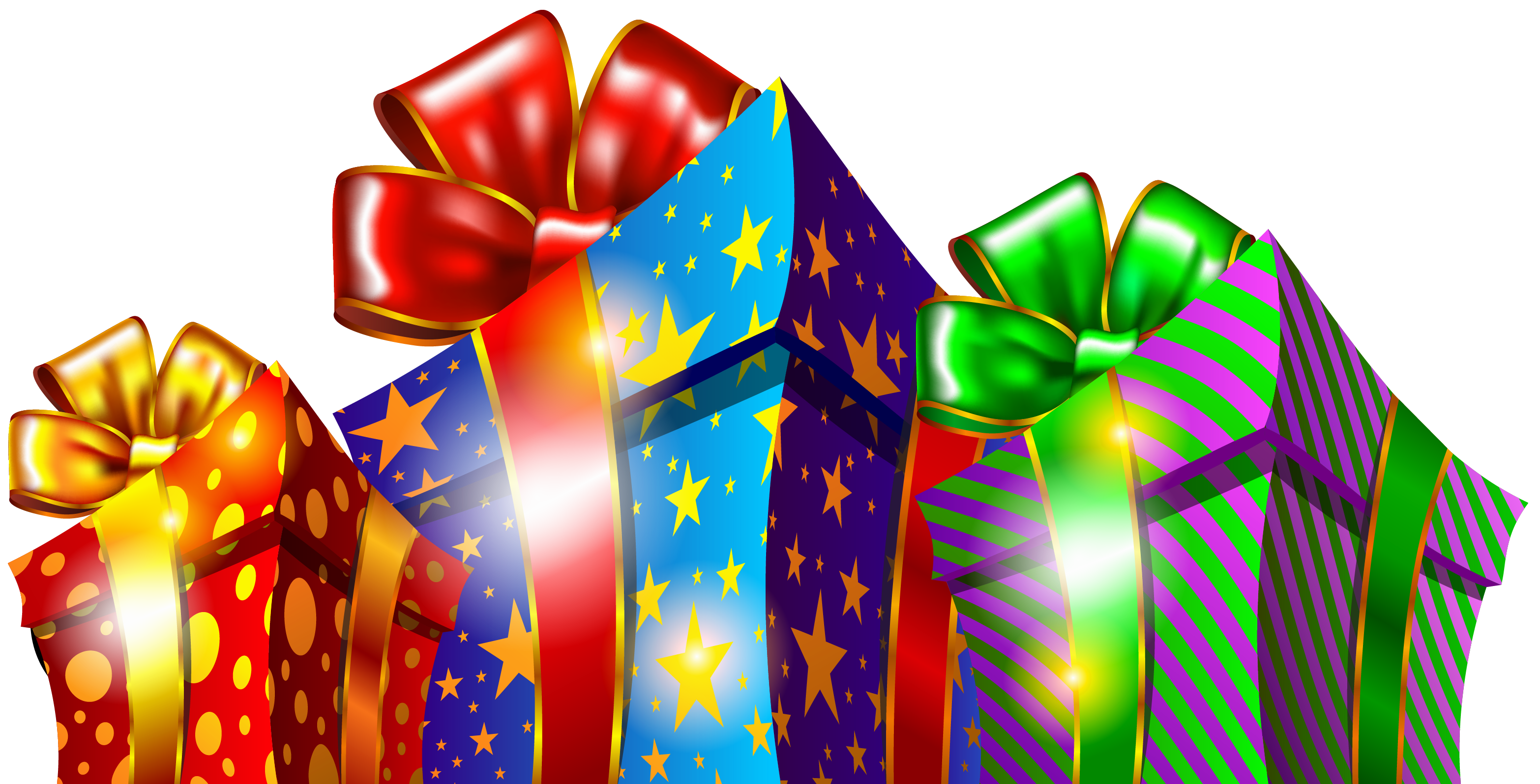 Free cliparts backgrounds of christmas giving. Gift boxes png clipart