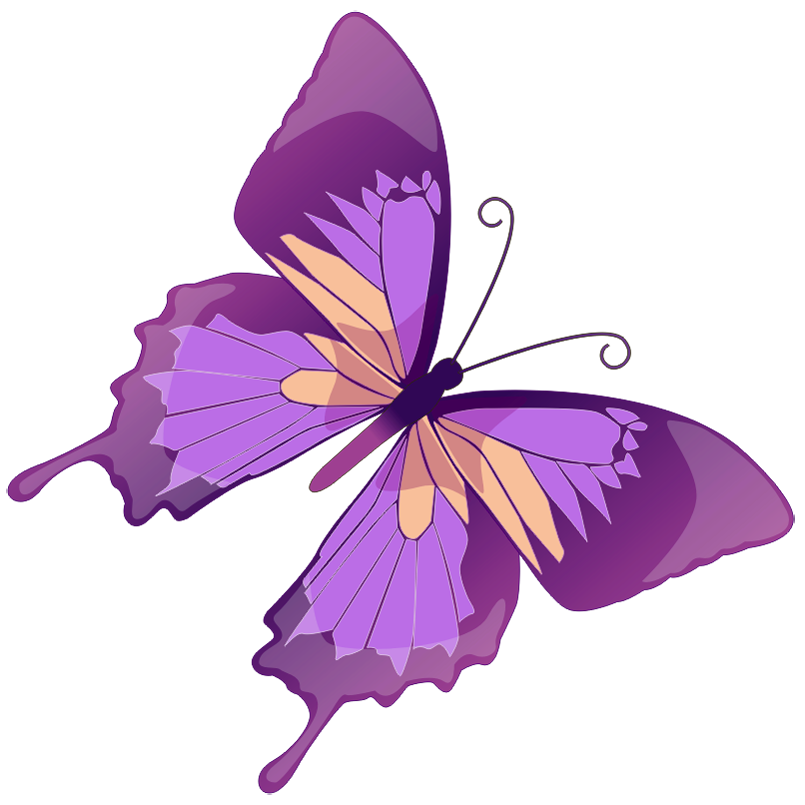 Purple one book clipart vector library download Purple Butterfly Clip Art   20 purple butterfly clip art free ... vector library download