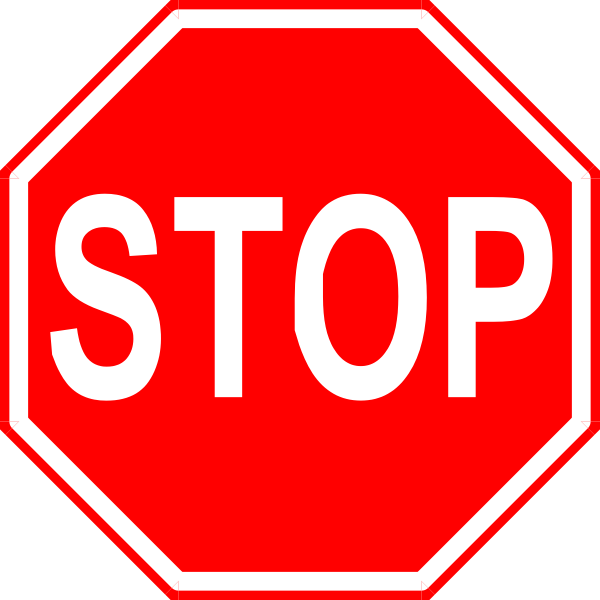 Stop sign clip art. Free cliparts signs