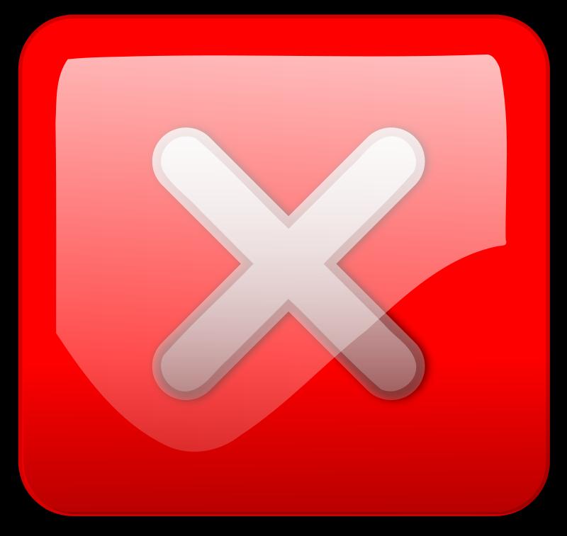Free close button clipart banner transparent download Free Clipart: Close Button red | inky2010 banner transparent download