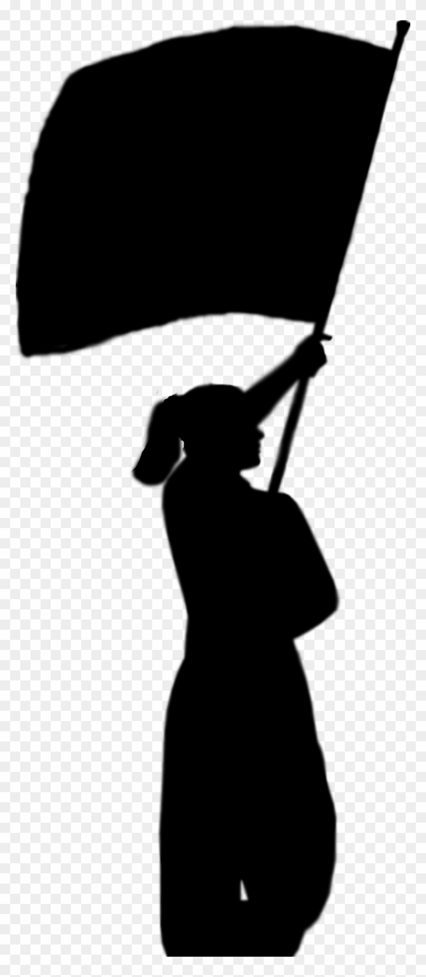 Free color guard clipart clipart black and white Free Color Guard Clipart - Color Guard Clip Art Transparent, HD Png ... clipart black and white